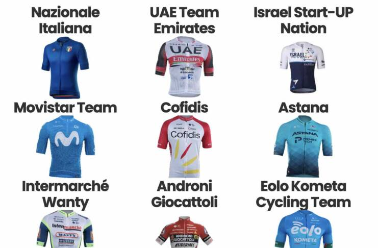 Liste des coureurs engagés sur la Coppa Agostoni 2021