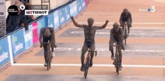 Sonny Colbrelli décrouvrait Paris-Roubaix 2021 et s'impose