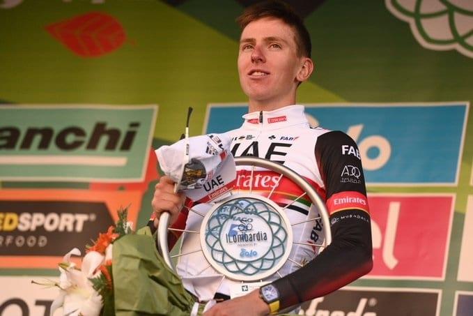 Tadej Pogacar brillant vainqueur du 115e Tour de Lombardie