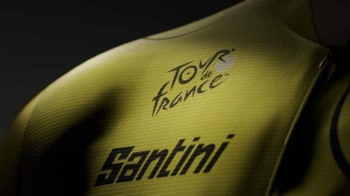 Le Tour de France et Santini partenaires