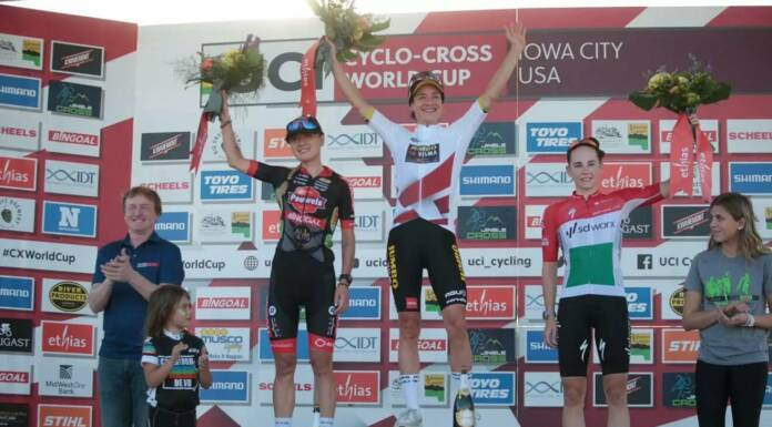 Coupe du Monde de Cyclo-Cross 2021/2022 : Marianne Vos remporte la 3e manche à Iowa CIty